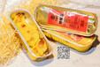 泰国金枕100g铝箔盒装烤榴莲冷冻榴莲