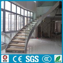 广东公寓弧形楼梯双钢板楼梯厂家
