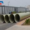 排污能力強玻璃鋼排污管/結構緊湊玻璃鋼管道/山東盛寶