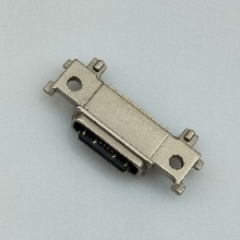 TYPE-CUSB3.116PIN贴板防水母座粉末冶金外壳沉板式破板式(2)图片