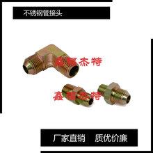 不锈钢GB5645.1-85扩口式压力表管接头图片