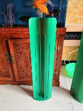 玻璃钢防眩板价格-S型防眩板尺寸高度定制厂家