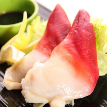 加拿大进口ss北极贝新鲜冷冻北极贝刺身水产日本料理寿司