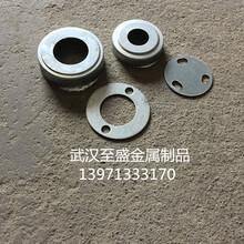 供应锌钢铝艺护栏阳台围栏楼梯扶手32/50/60装饰圆铁盖圆铁底板