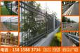 東莞工業區透景式柵欄定做鋅鋼護欄報價小區圍墻鐵藝欄桿現貨