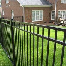 汕头工厂区铁艺围栏定做锌钢护栏组装价格图片