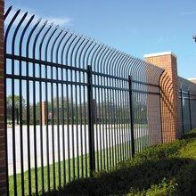 东莞小区铁艺护栏款式定做深圳工厂围墙栏杆组装生产厂家图片