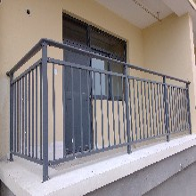 小区阳台隔离防护组装扶手栏杆定做图片
