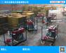 2人即可操作的便攜式柴油打樁機/柴油植樁機廠家-WXV不受電源限制