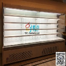 界首宝乐迪KTV酒水风幕柜,适用酒水饮料,水果蔬菜,低温奶等冷藏保鲜柜图片