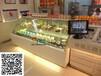 遂宁蛋糕店吧台矮弧形蛋糕展示柜,慕斯西点冷藏柜,1.8米甜品保鲜柜