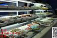 后补式菜品保鲜柜,前后开放菜品展示柜,火锅喷雾菜柜,涮烤自助餐厅点菜柜