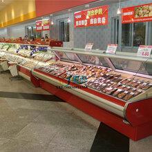 阜阳超市熟食保鲜柜,卧式鸭脖展示柜,商用凉菜卤味冰柜,商用超市冷柜