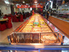 福州风冷自助餐台定做,自助餐菜品保鲜柜,敞开式菜品自选柜