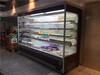 巴彦淖尔定做超市保鲜风幕柜蔬菜水果展示风冷柜五层直角敞开带夜帘