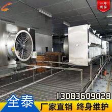 郑州螺旋速冻机,螺旋式速冻机厂家,螺旋速冻机厂家,全泰食品机械图片