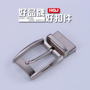 厂家直批金属皮带扣定制皮带扣五金配件锌合金转动针夹扣单针扣