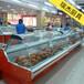 熟食柜商超熟食保鲜展示柜武汉鸭脖柜生产厂家