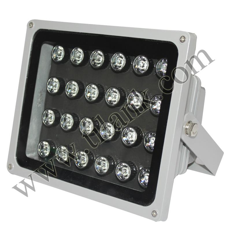 220V大功率光感高亮led白光监控补光灯停车场车牌识别摄像辅助灯