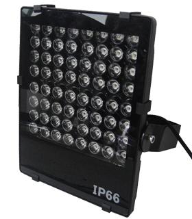 64W光感大功率监控补光灯led白光220V智能交通道路卡口摄像辅助