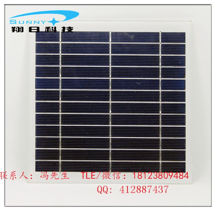 单晶硅太阳能电池板图片
