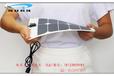 柔性太阳能电池板5V10W户外登山骑行手机6V充电宝设备供电