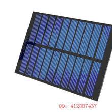 单晶硅太阳能电池板5V200MA手机USB小风扇供电折叠包制作图片
