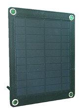 长期低价批量促销太阳能电池板折叠包5V5W户外等起旅游山区手机充电宝供电图片