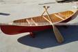 厂价直销3米景观装饰木船独木舟皮划艇养花木船