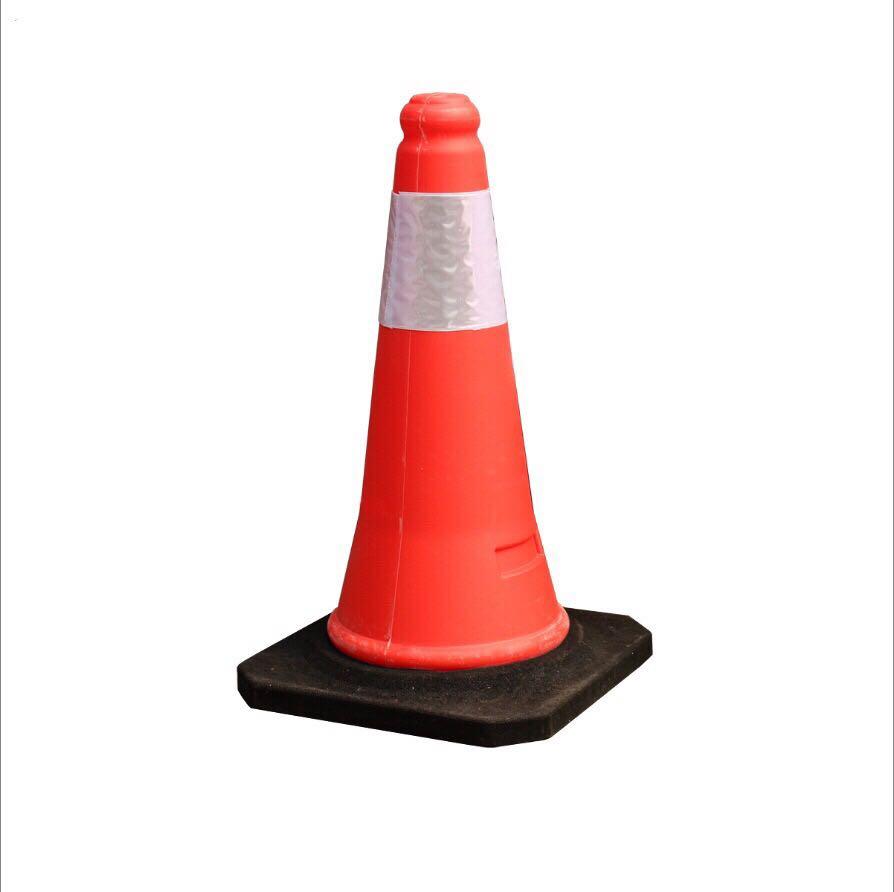 厂家直销反光路锥雪糕桶交通路障圆锥
