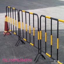 綠化改造臨時阻車圍欄可移動鐵馬護欄江門周邊可送貨上門圖片