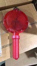 供應道路交通警示燈太陽能LED晶格警示燈高頻閃爍燈圖片