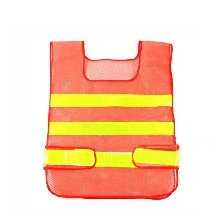 大量供應交通安全反光衣背心型馬甲警示服網格應急安全反光衣圖片