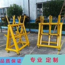 深圳龙岗公安局挡车阻路拒马护栏三角带刺路障路栏图片