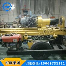 自行式水井钻机高效气动打井机地质勘探行走式农用气动打井机农村打井机