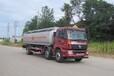 欧曼小三轴14吨运油车