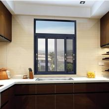 供应铝合金门窗80系列两轨推拉窗佛山厂家推拉窗图片