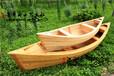 两头尖木船装饰雄鸡木船批发,尖头船养花船景区装饰船