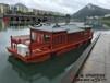 山西接待船定做中式畫舫游船茶藝船游覽觀光船