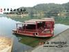 桂林象山水上游览木船,观光木船,餐饮船,旅游船,电动公园观光船电动游船