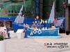 千年舟木船厂专业生产景观船、设计景观木船、定做景观装饰船、公园摆设木船