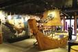 厂家直销天津木船海盗船价格装饰船景观海盗船户外大型船模