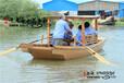 单篷船批发景区观光船定做厂家直销电动旅游船