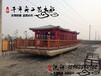 双层画舫定做,木质画舫游船,玻璃钢画舫,铁皮画舫船