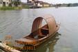 哪家有便宜的木质手划船休闲船景区游船多少钱仿古木船定做