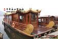 畫舫觀光船廠家定制12米大型觀光餐飲畫舫船