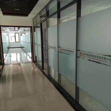 青岛办公室贴膜,反光膜,静电无胶玻璃膜
