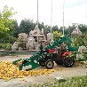 生产大型玉米脱粒机厂家18马力皮带车带打棒子脱皮机