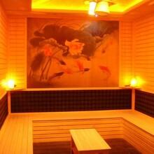 苏州康舒达远红外桑拿房材料厂家承建浴室桑拿房工程图片