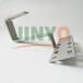 薄膜电池板压块非晶硅组件支架压块双玻电池板组件中压块